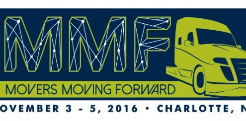 Movers Moving Forward - 2016 NCMA Convention in Charlotte, NC - banner