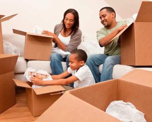 tips for families moving